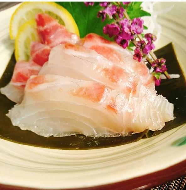 真鯛昆布皿盛